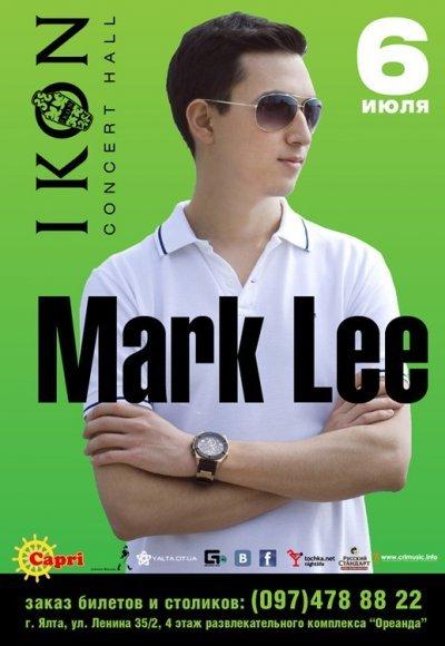 Mark Lee: постер мероприятия