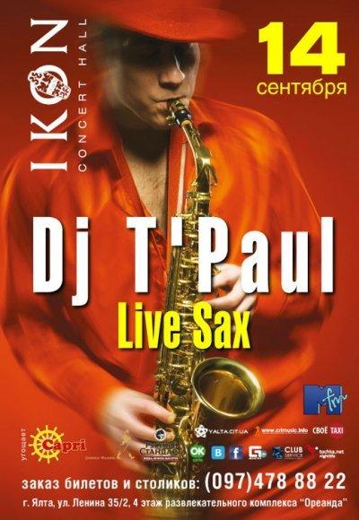 DJ T'Paul: постер мероприятия