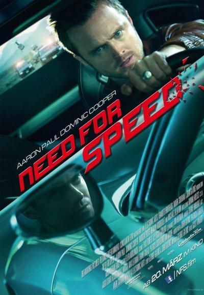 Need for Speed: Жажда скорости: постер мероприятия