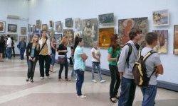 Выставка картин, посвященная 150-летию Константина Коровина